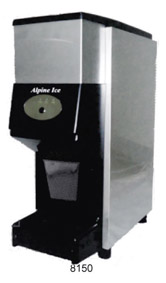 Alpine Ice and Water Counter Top Machine 8150