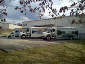 Horizon Coffee and Bottled Water Service Delivery Trucks Fleet