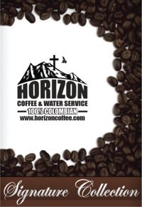 Horizon Coffee and Water Service 100% Columbian Signature Collection Coffee Packet